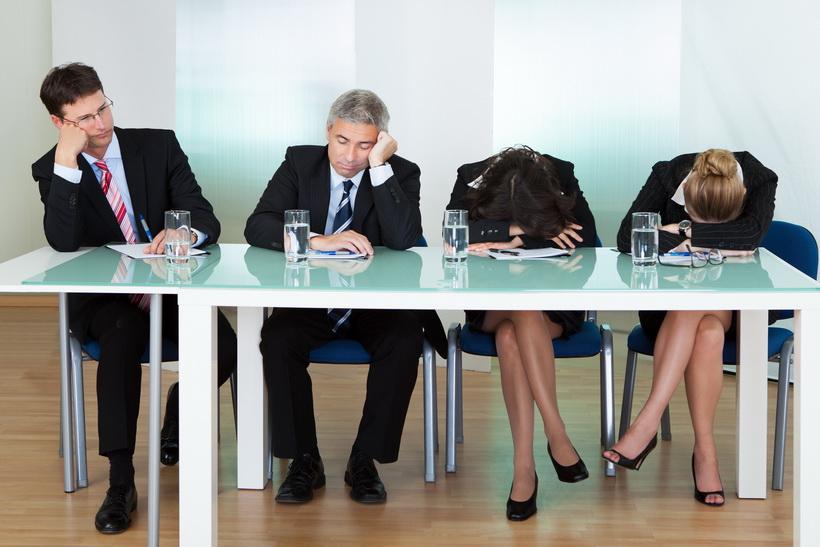 Длинные совещания непродуктивны