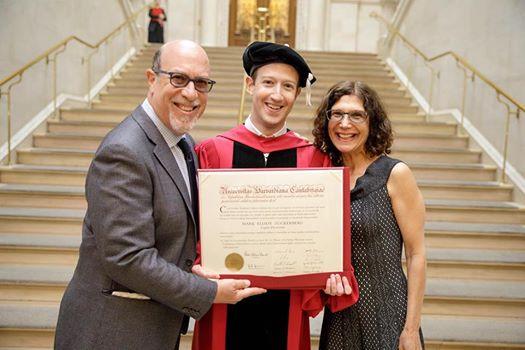 Выступление Марка Цукерберга в Гарварде